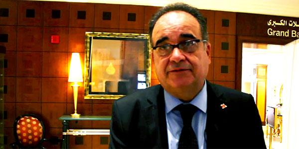 محمد الطرابلسي وزير الشؤون الاجتماعية - إطلاق المشروع التمهيدي للنهوض بالحوار الاجتماعي