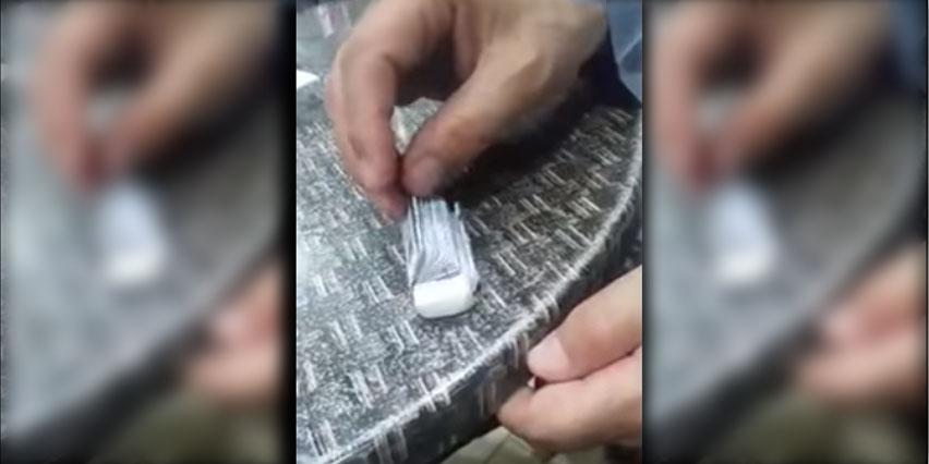 بالفيديو: ويتواصل ابتكار طرق جديدة للغش في امتحانات