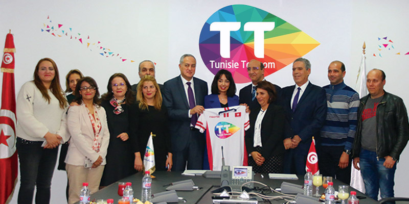 En vidéo : Tunisie Telecom sponsor officiel de la Fédération Tunisienne de Volley-ball