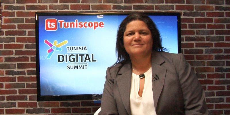 En vidéo : Mme Mouna Ben Halima parle de sa participation au salon Tunisia Digital Summit