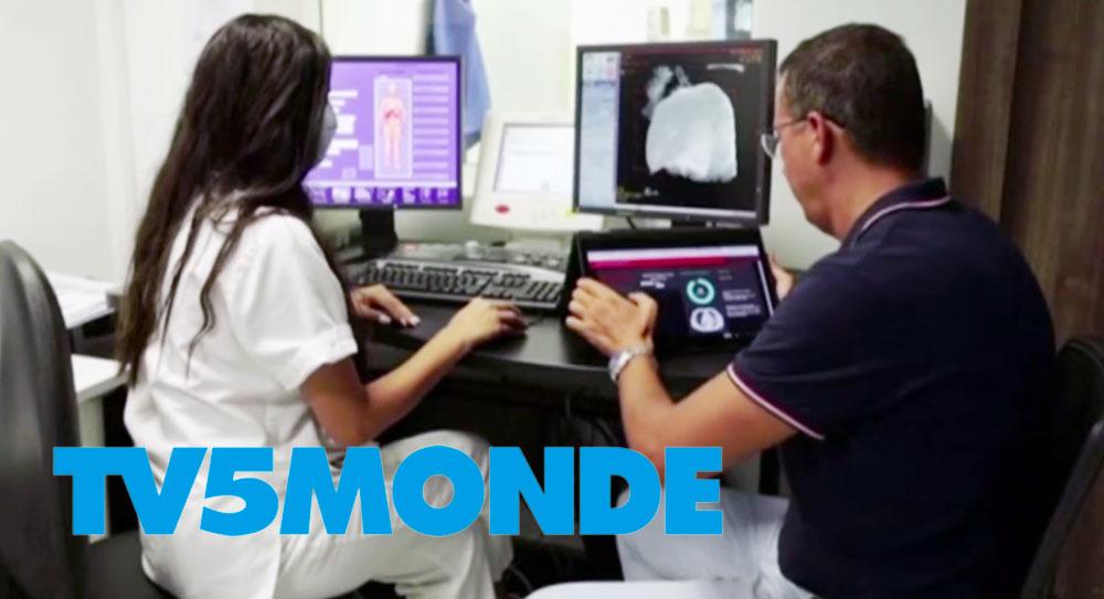 Sur TV5 : l'intelligence artificielle au service des malades du Covid