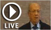 Live streaming : Conférence du nouveau Président Béji Caid Essebsi