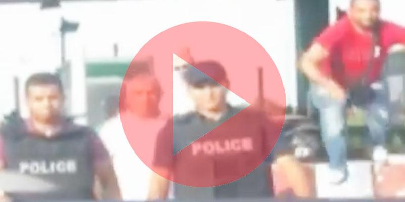 بالفيديو : لحظة إيقاف نبيل القروي