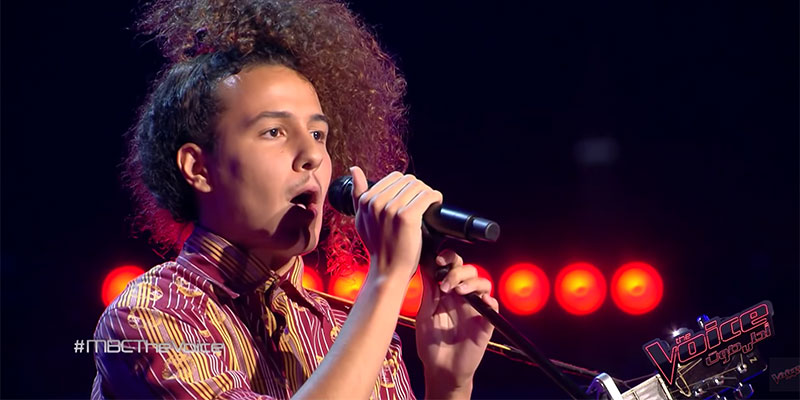 بالفيديو: وجيه البجاوي من تونس يهدى غناءه إلى من كانوا يسخرون منه في طفولته